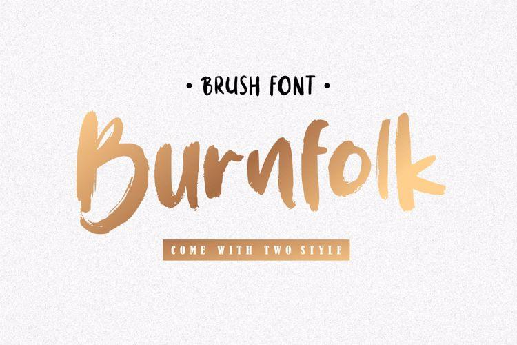 Burnfolk Font