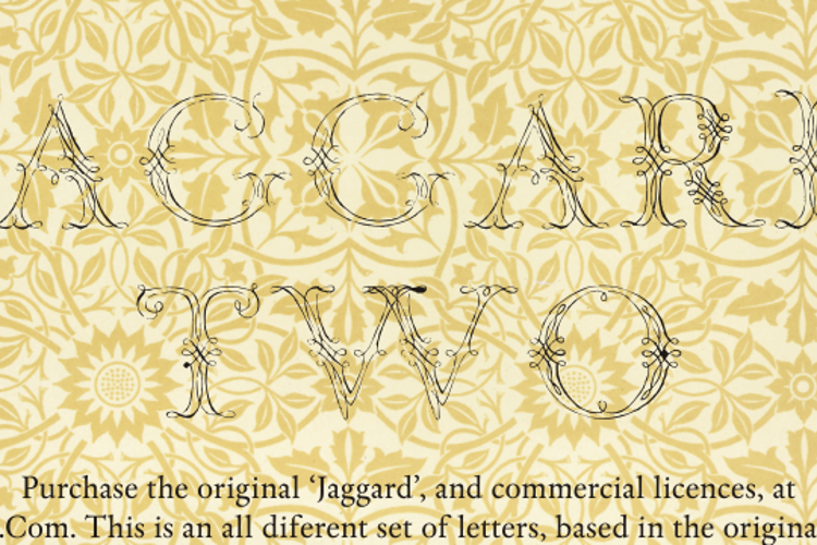 Jaggard Two Font