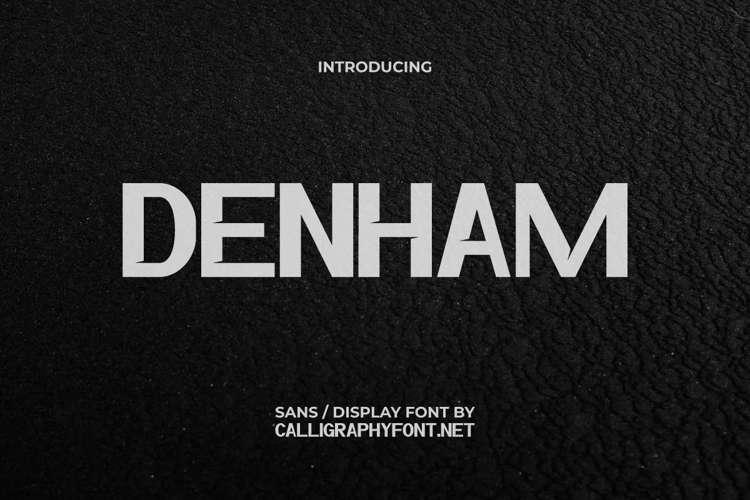 Denham Font