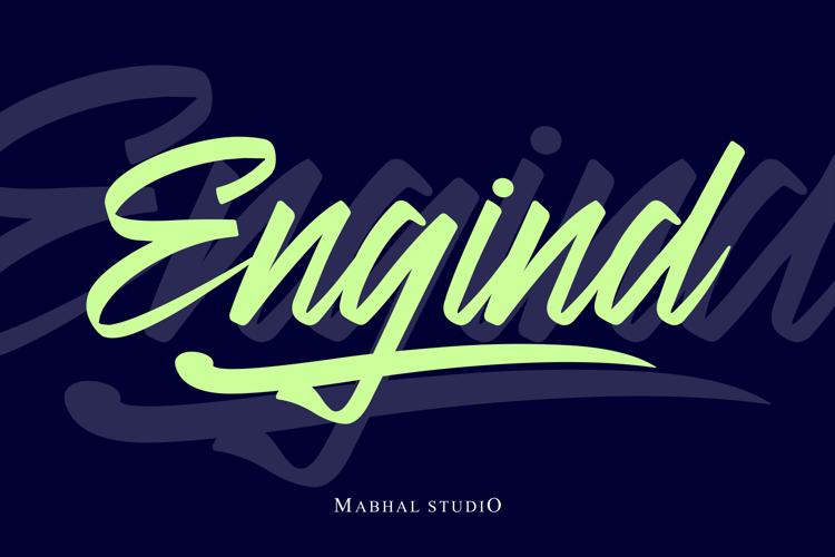 Engind Font
