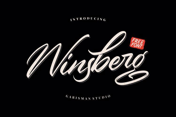 Winsberg Font