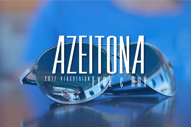 Vtks Azeitona Font