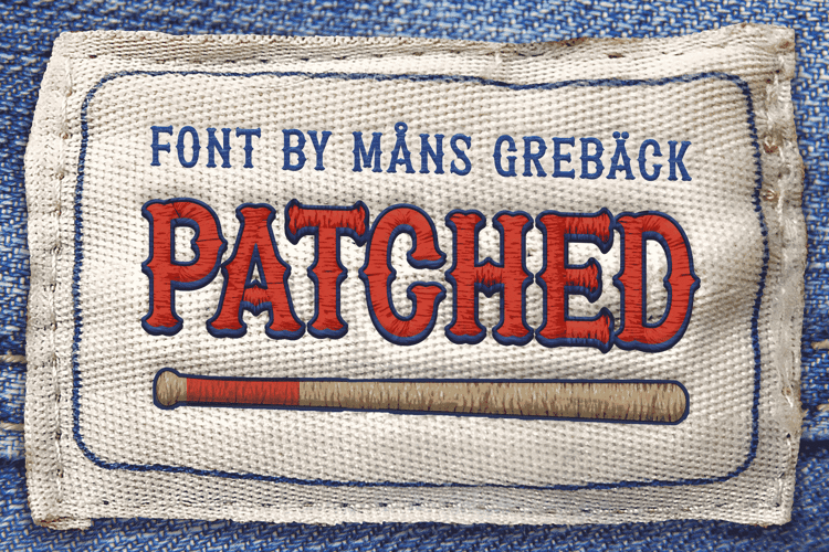 Patched Font