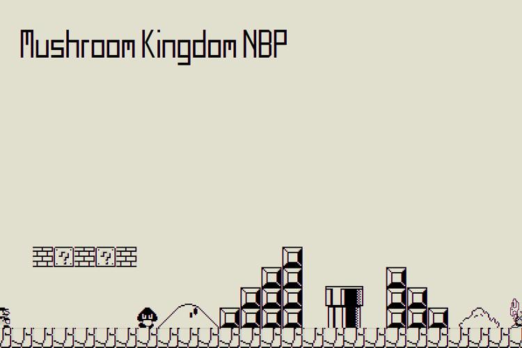 Mushroom Kingdom NBP Font