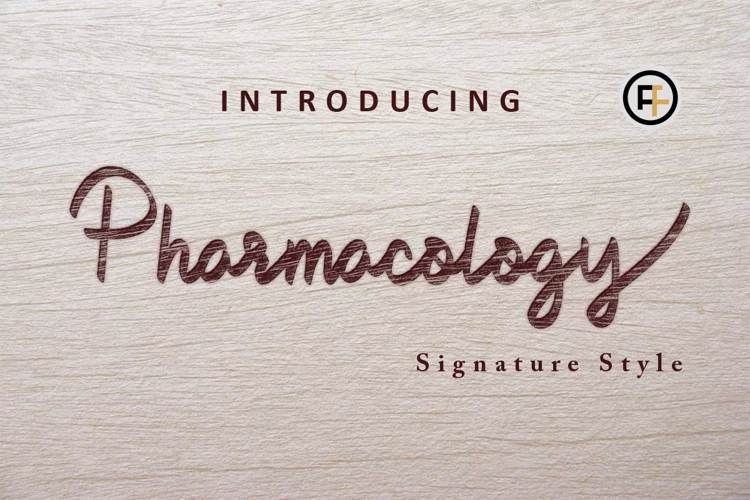 Pharmacology Font