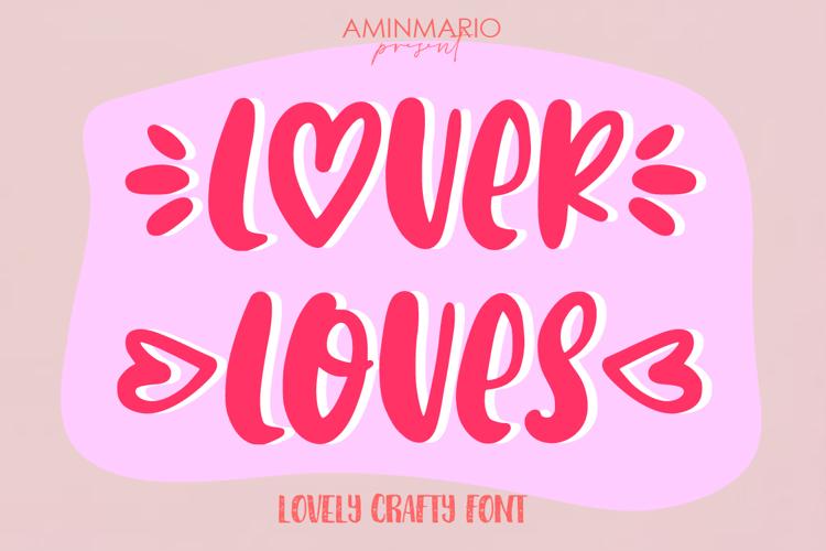 Lover Loves Font