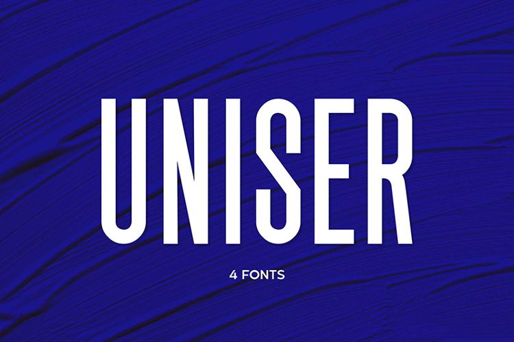 Uniser Bold Font