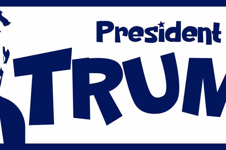PresidentTrump Font