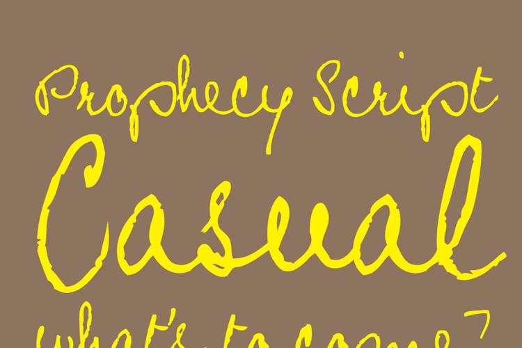 Prophecy Script Font