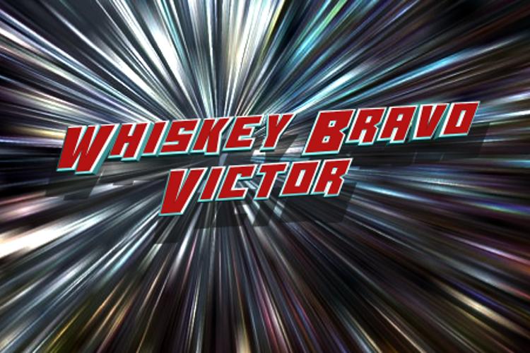 Whiskey Bravo Victor Font