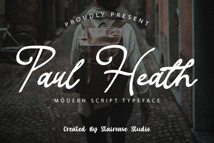 Paul Heath Font
