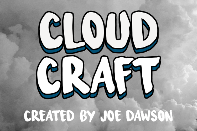 Cloud Craft Font