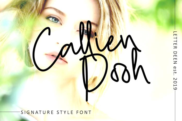 Callien Pooh Font
