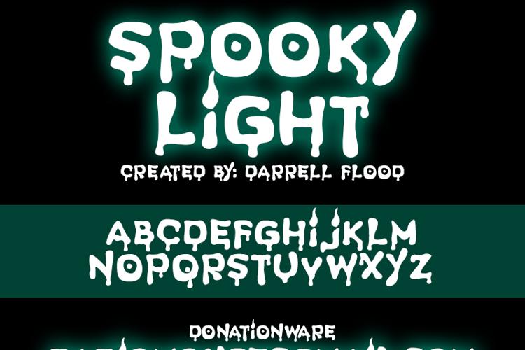 Spooky Light Font