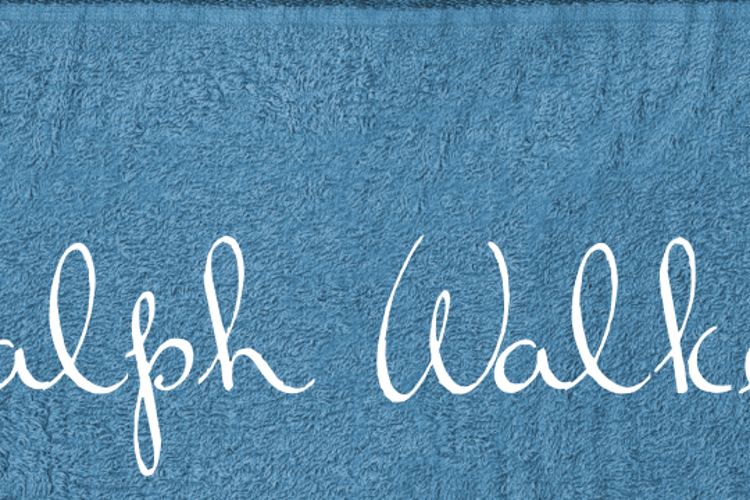 Ralph Walker Font