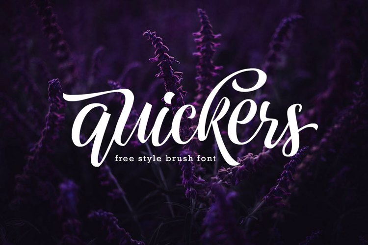 Quickers Font