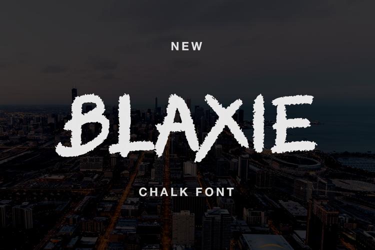 BLAXIE Font