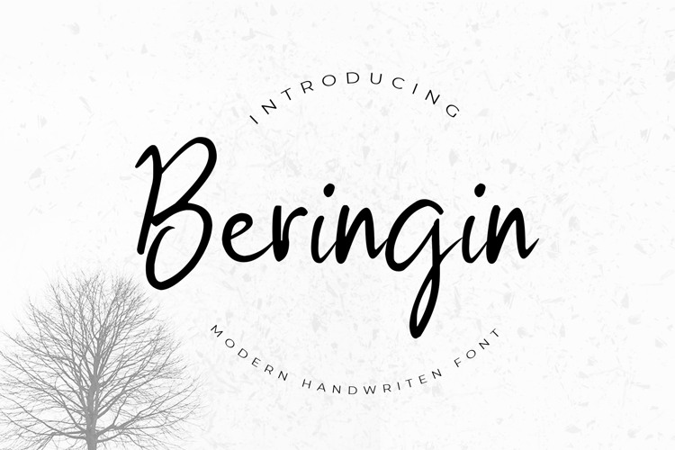 Beringin Font