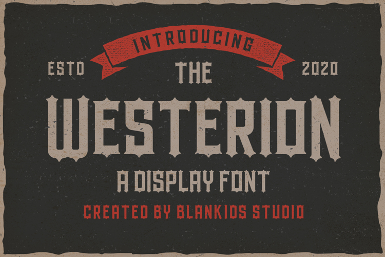 Westerion Font