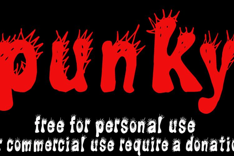 CF Punky Font