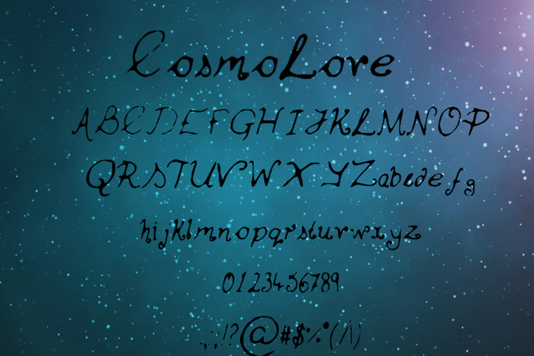 Cosmo_Love Font