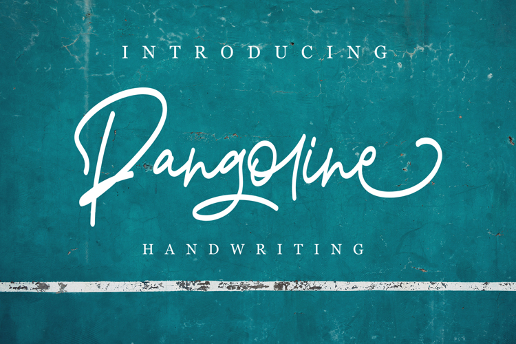 Pangoline Font