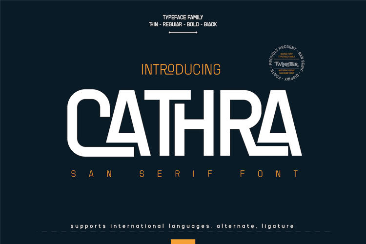CATHRA Font