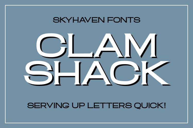 Clam Shack Font
