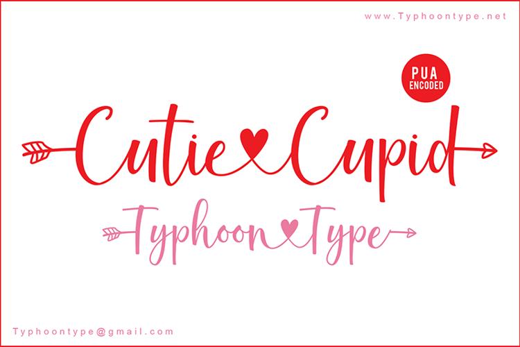 Cutie Cupid - Font