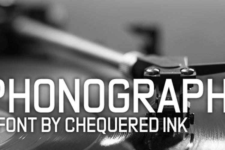 Phonograph Font