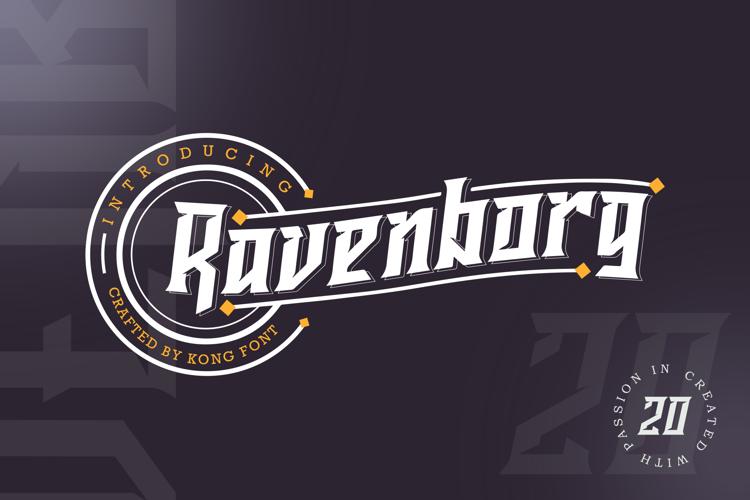 Ravenborg Font