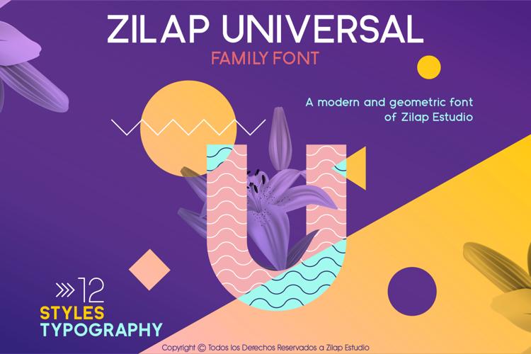 Zilap Universal Font