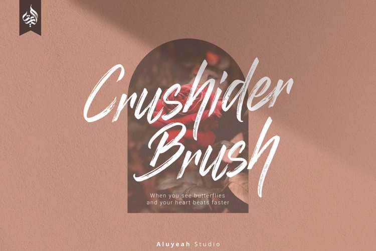 Crushider Font