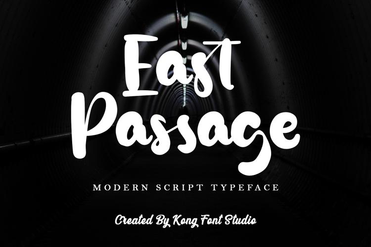 East Passage Font