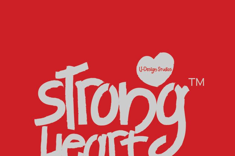 Strong Heart Font