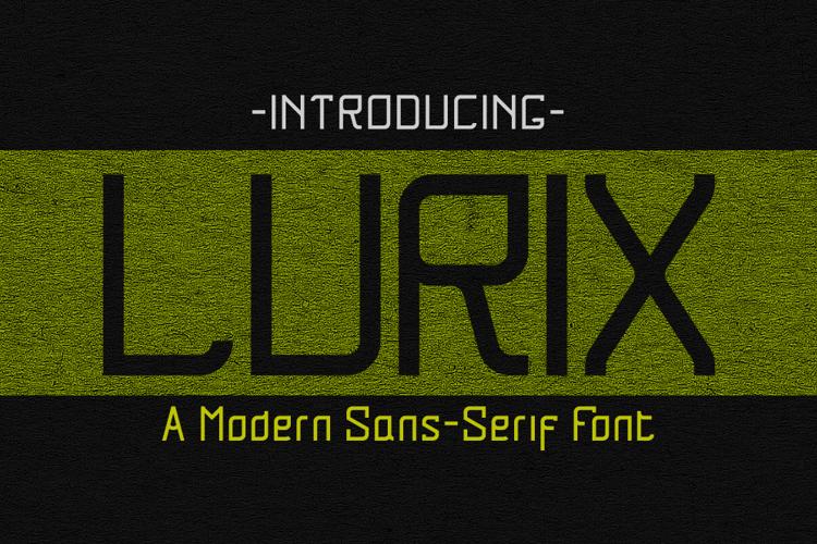 Lurix Font