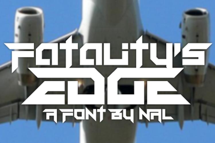 Fatality's Edge Font