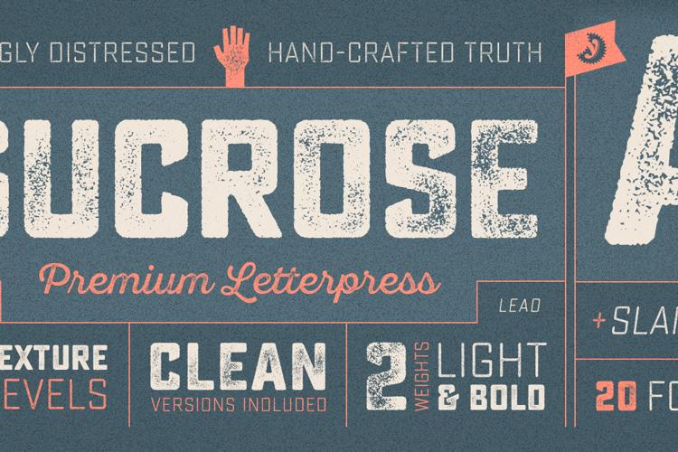 Sucrose Bold Two Font