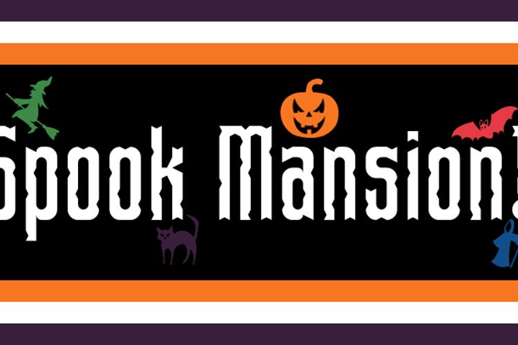 Spook Mansion Font