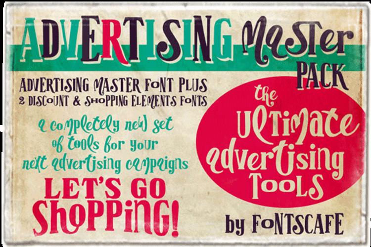Advertising Master Font