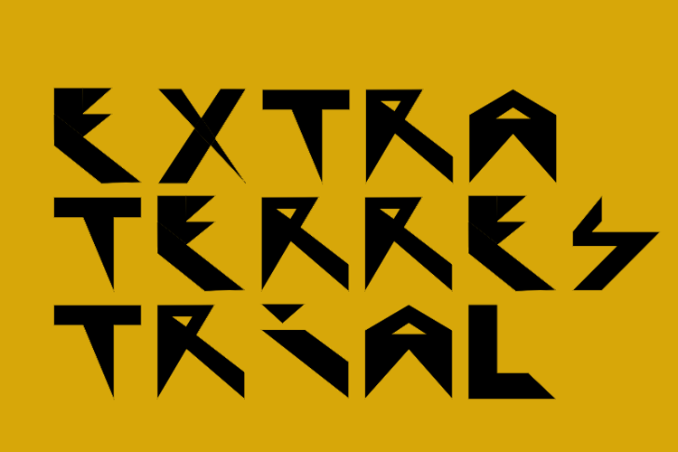 Extraterrestial Font