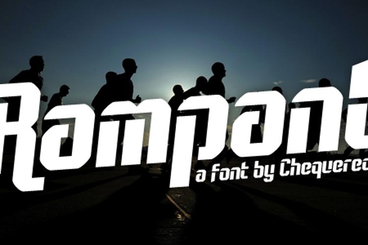 Rampant Font