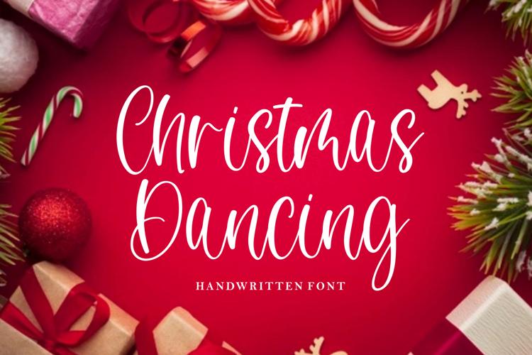 Christmas Dancing Font
