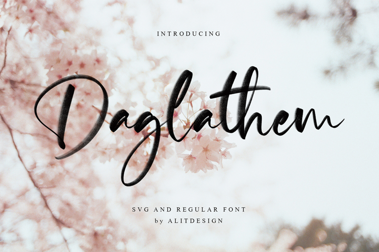 Daglathem Font
