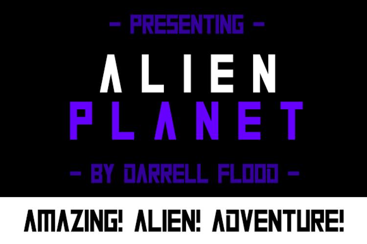 Alien Planet Font