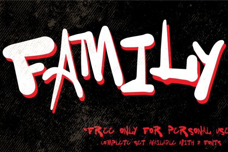 Vtks Family Font