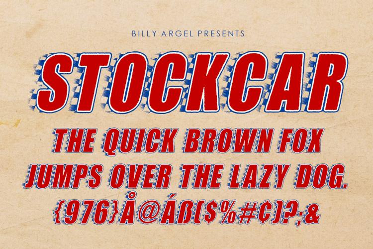 STOCKCAR Font