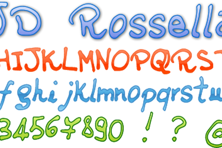 JDRossella Font