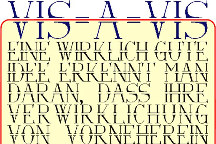 Via-A-Vis Font