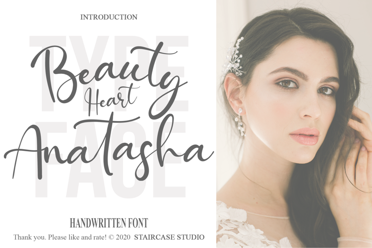 Beauty Heart Anatasha Font